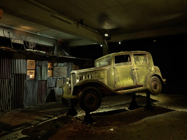 Michael C. McMillen,The Entropic Taxi; Final Destination, 2014, courtesy Michael C. McMillen Photo: André Morin.