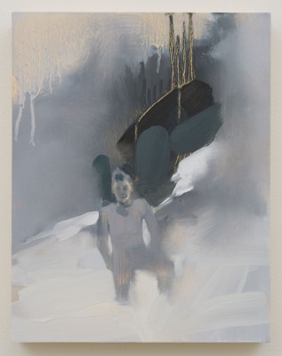 REBECCA CAMPBELL, Dad in snow, 2014, 14 x 11 in. Courtesy of L.A.Louver Gallery