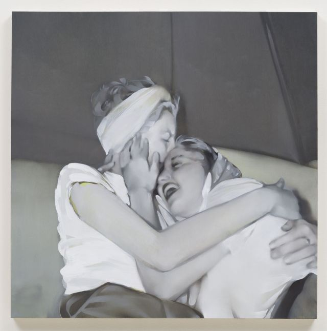 REBECCA CAMPBELL, Big Sister, 2013, oil on board 36 x 36 in. Courtesy LA Louver Gallery