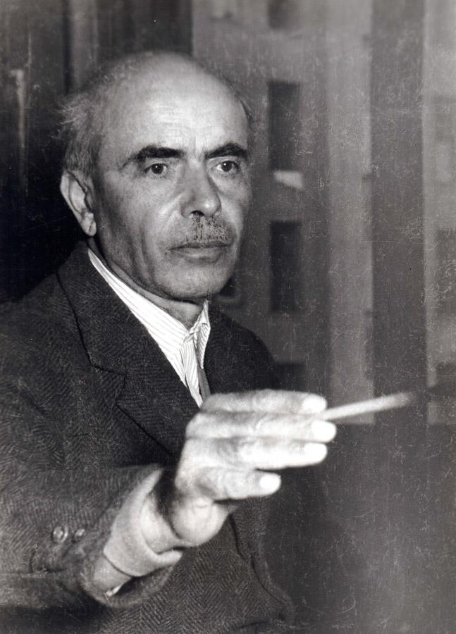 ALBERTO ALBERTINI, Photographic portrait of Oreste