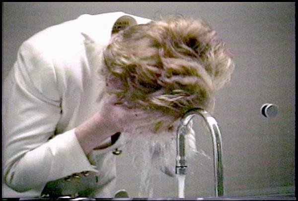 HILJA KEADING, Oh Happy Day 1996,  still from video.