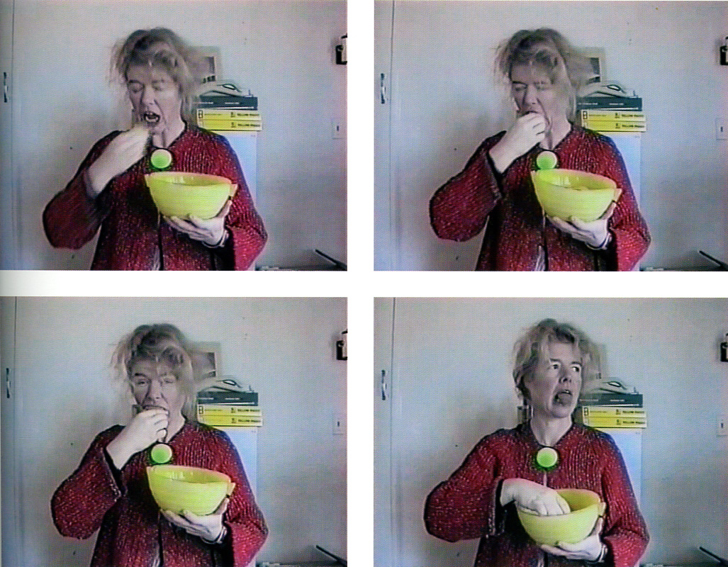 JUDY DARRAGH, Art can make you  2002  (video stills)  VHS video
