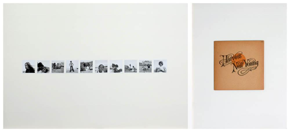 JEAN-LOUIS GARNELL, Diptyque I 1972-2012 80 x 120com, 80 x 60 cm © Jean Louis Garnell
