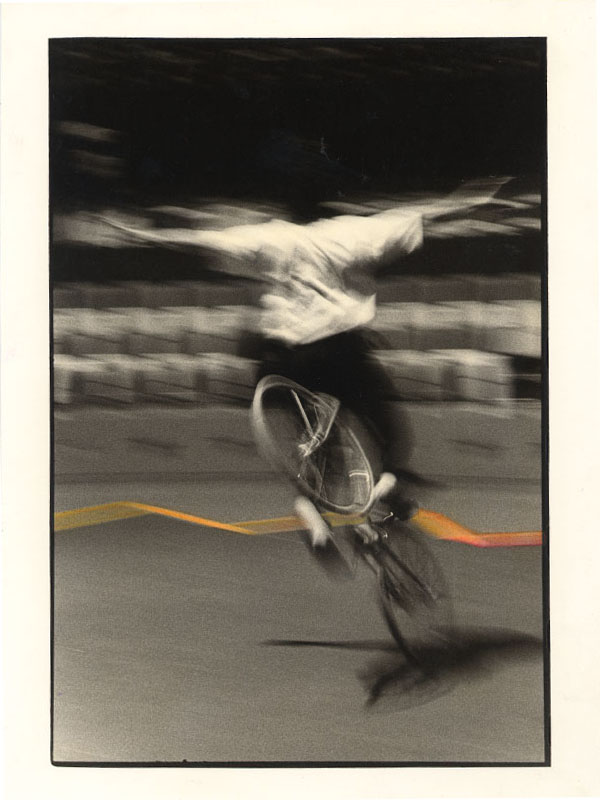 BIANCA SFORNI, Circus 2, 1992, Hand colored gelatin silver prints, 23 x 17.5 cm Courtesy of the artist