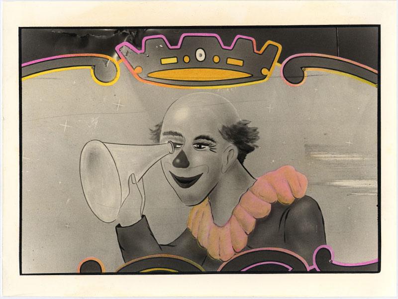 BIANCA SFORNI, Circus 2, 1992   Hand colored gelatin silver prints, 17.5 x 23 cm Courtesy of the artist