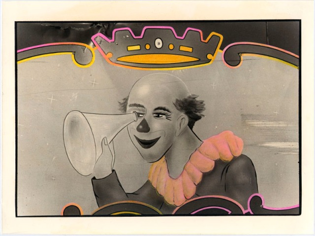 BIANCA SFORNI, Circus 2, 1992   Hand colored gelatin silver prints, 17.5 x 23 cm Courtesy of the artist