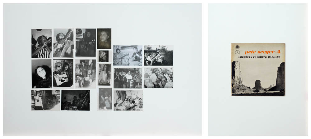 JEAN-LOUIS GARNELL, Diptyque  IV   1973-2012 80 x 120 cm, 80 x 60 cm © Jean-Louis Garnell