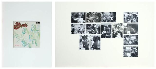 JEAN-LOUIS GARNELL, Diptyque II  1973-2012 80 x 60 cm, 80 x 120 cm © Jean-Louis Garnell