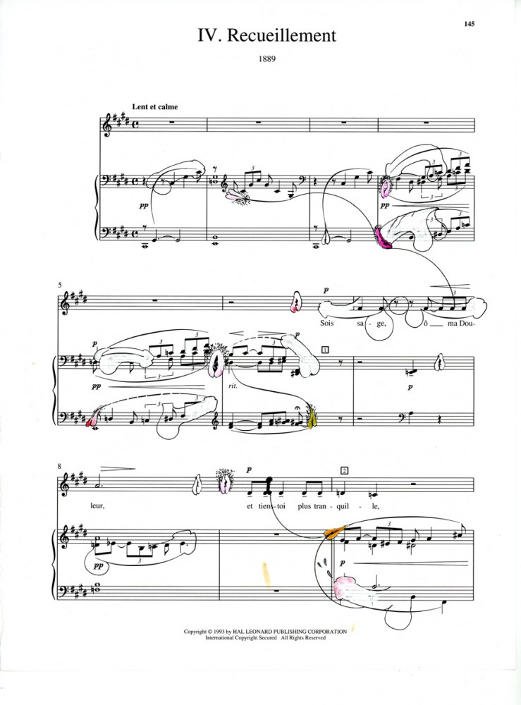 ANA PRVACKI, Debussy, IV. Recueillement, 2014