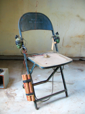 Michael C. McMillen, The World 's Most Dangerous Chair, 1973 Courtesy of the artist