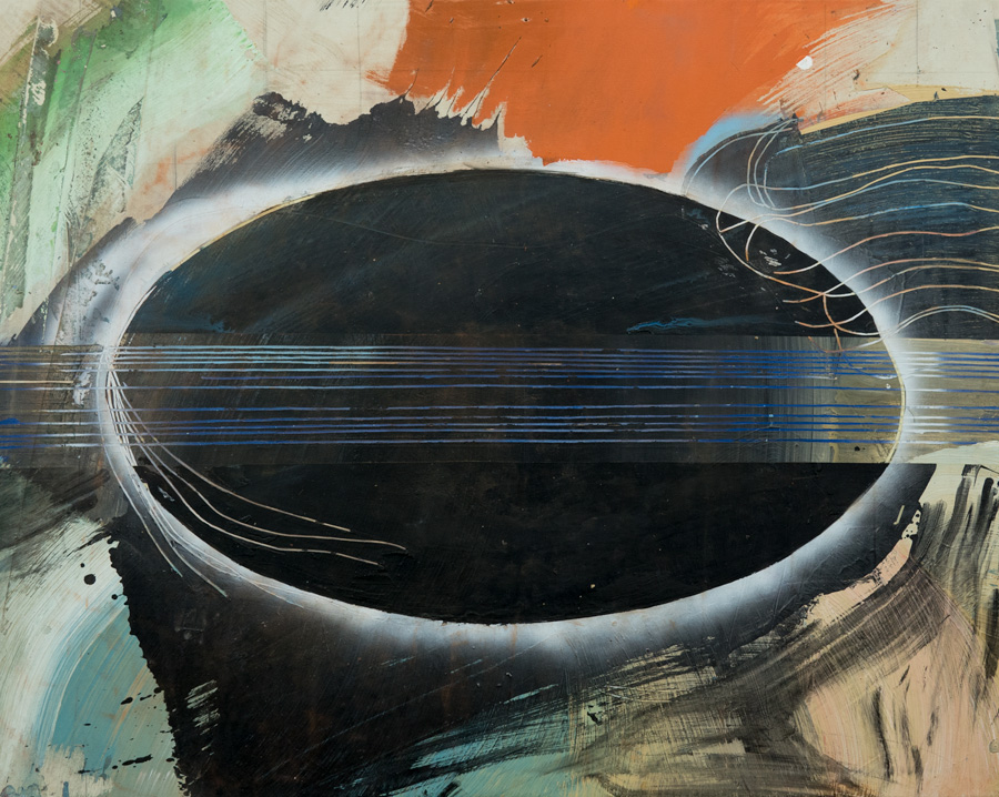 EDWARD CLARK, Untitled (China Series), 1995, acrylic on canvas. Collection of the artist Courtesy of The Mistake Room, Los Angeles