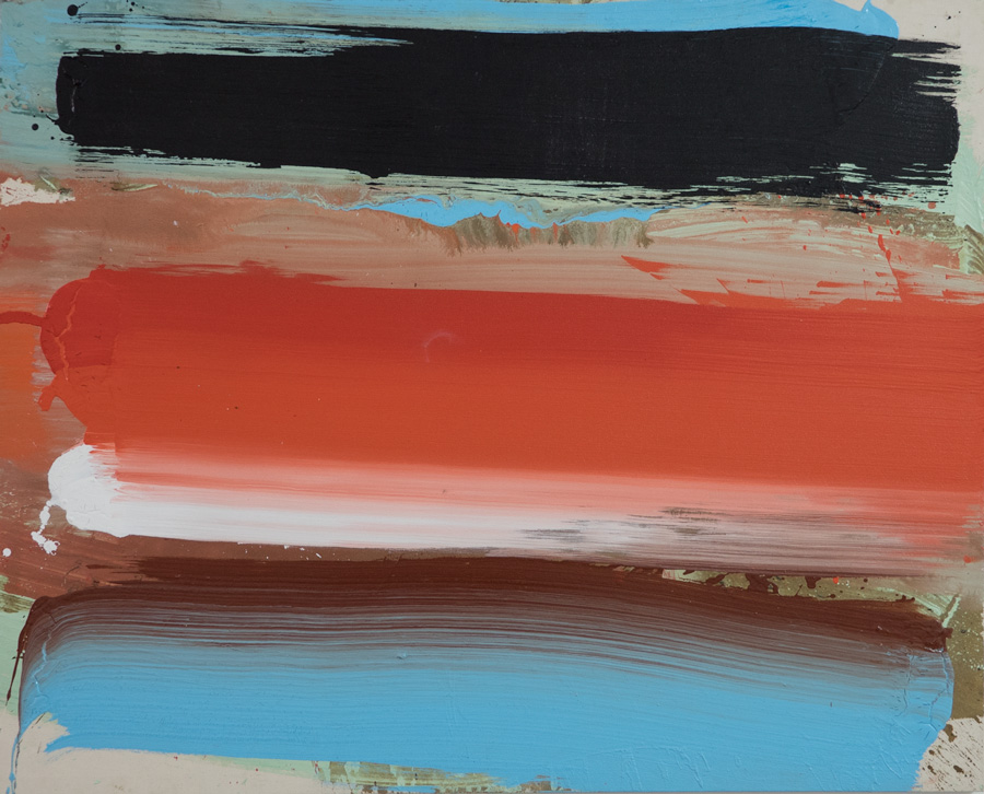 EDWARD CLARK, Untitled, 2013, acrylic on canvas. Collection of the artist Courtesy of The Mistake Room, Los Angeles