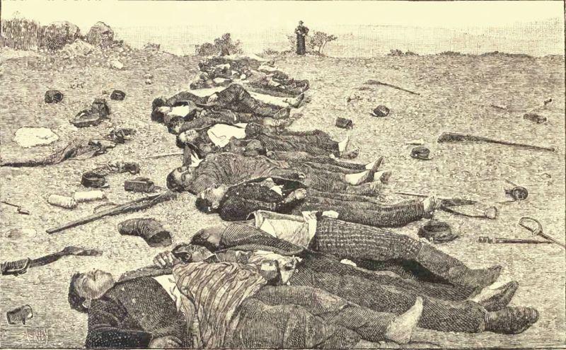 CHILE 1891 - GUERRA CIVIL Batalla de Placilla