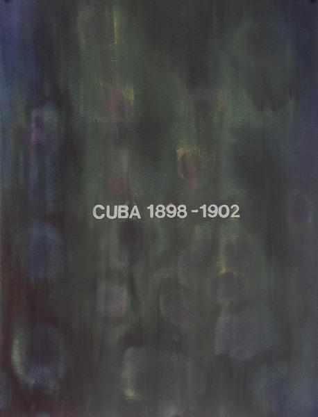 SAM ERENBERG, Mementos: Cuba 1898-1902, Watercolor, 16 x 12 inc> Courtesy of the artist