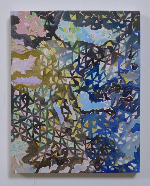 "JOSHUA ASTER, shattereddreams, 2014, oil on canvas over panel, 14.75"" x 11.75"" Courtesy of the artist"