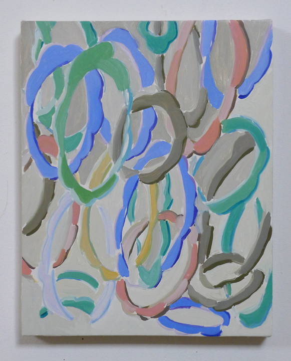 """JOSHUA ASTER, springcollection 2014, oil on canvas over panel, 14.75"""" x 11.75"""" Courtesy of the artist"""