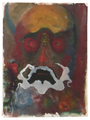 """RICHARD LAU, Untitled, 2013, Oil on canvas paper, 12"""" x 9"""" Courtesy of 137ac"""