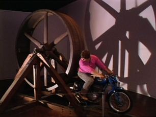 CHRIS BURDEN, The Big Wheel, 1979