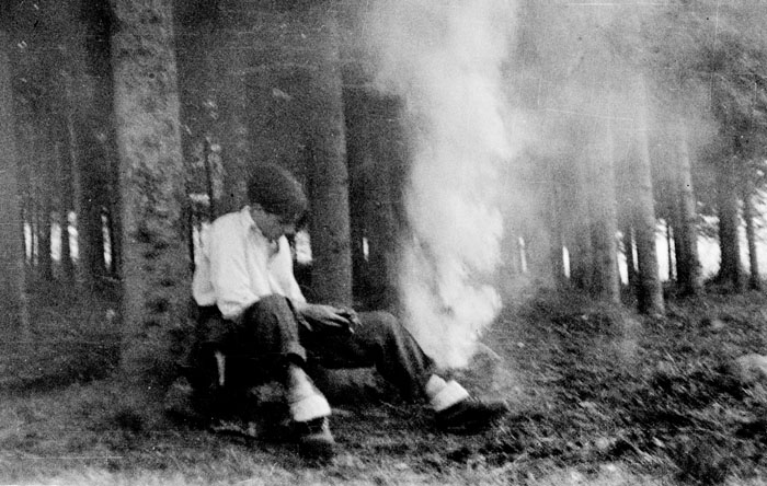 ALBERTO ALBERTINI, In the woods