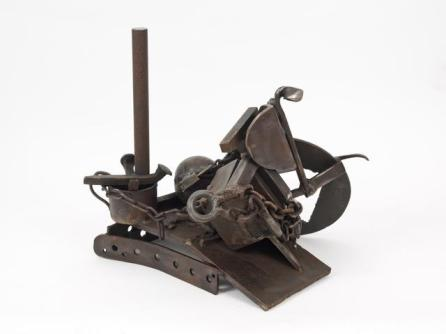 MELVIN EDWARDS, The Way It Is, 1992 Welded steel, 18.25 h x 21 w x 16.5 d inches