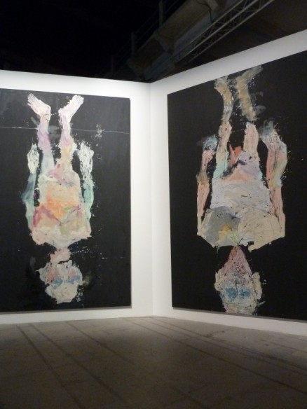 "GEORG BASELITZ, Doesn't Fall from the Wall, 2015 Venice Biennale 2015, ""All the World's Futures"""