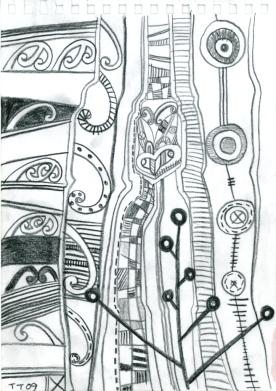 TAWERA TAHURI, Speech Bubbles n.4, 2009