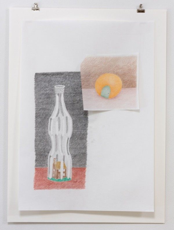 NICK AUSTIN, Where Sugar Lives, 2015, color pencil on paper Courtesy of the artist and Laurel Doody