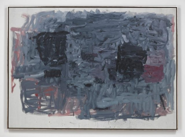 PHILIP GUSTON, The Year 1964, Oil on canvas 78 x 107 1/2 inches @ The Estate of Philip Guston - Courtesy of Hauser and Wirth
