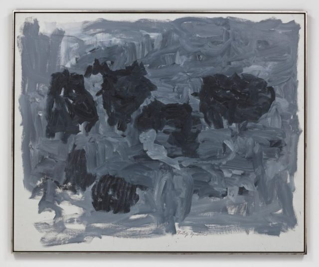 PHILIP GUSTON, Group II 1964, Oil on canvas 65 1/8 x 79 1/8 inches @ The Estate of Philip Guston - Courtesy of Hauser and Wirth