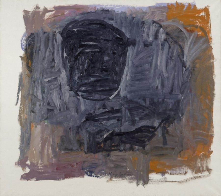 PHILIP GUSTON, Painter III 1963 Oil on canvas 66 x 79 inches @ The Estate of Philip Guston - Courtesy of Hauser and Wirth