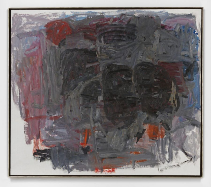 PHILIP GUSTON, Accord i, 1962 Oil on canvas 68 1/8 x 78 1/2 inches @ The Estate of Philip Guston - Courtesy of Hauser and Wirth